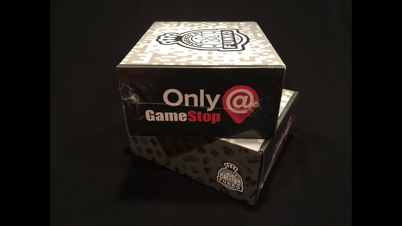 Unboxing Gamestop S Black Friday Funko 2016 Mystery Boxes