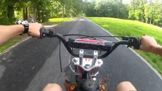 SSR 125 Pit Bike Top Speed