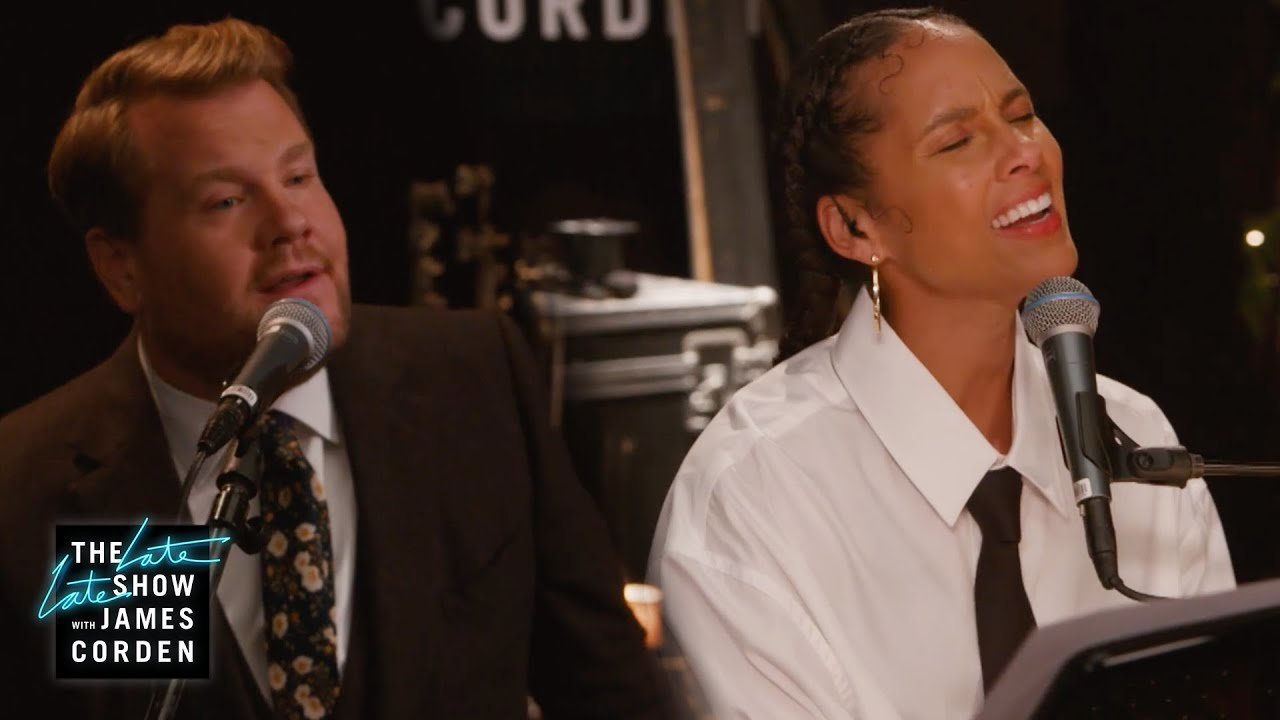 'No One' Can Keep Alicia Keys & James from Performing