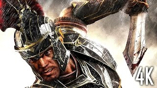 Ryse: Son of Rome 4K Game Movie (All Cutscenes) UltraHD