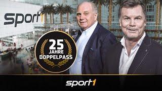 Der CHECK24 Doppelpass mit Uli Hoeneß - 25 Jahre Doppelpass | SPORT1