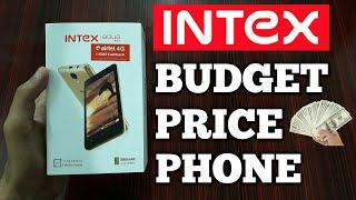 INTEX AQUA A4+ UNBOXING