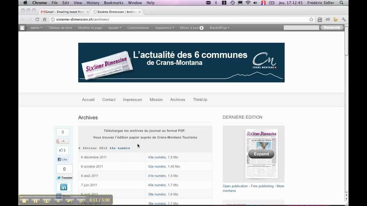 Comment Ajouter Une Ligne Dans Un Tableau Sous WordPress Youtube