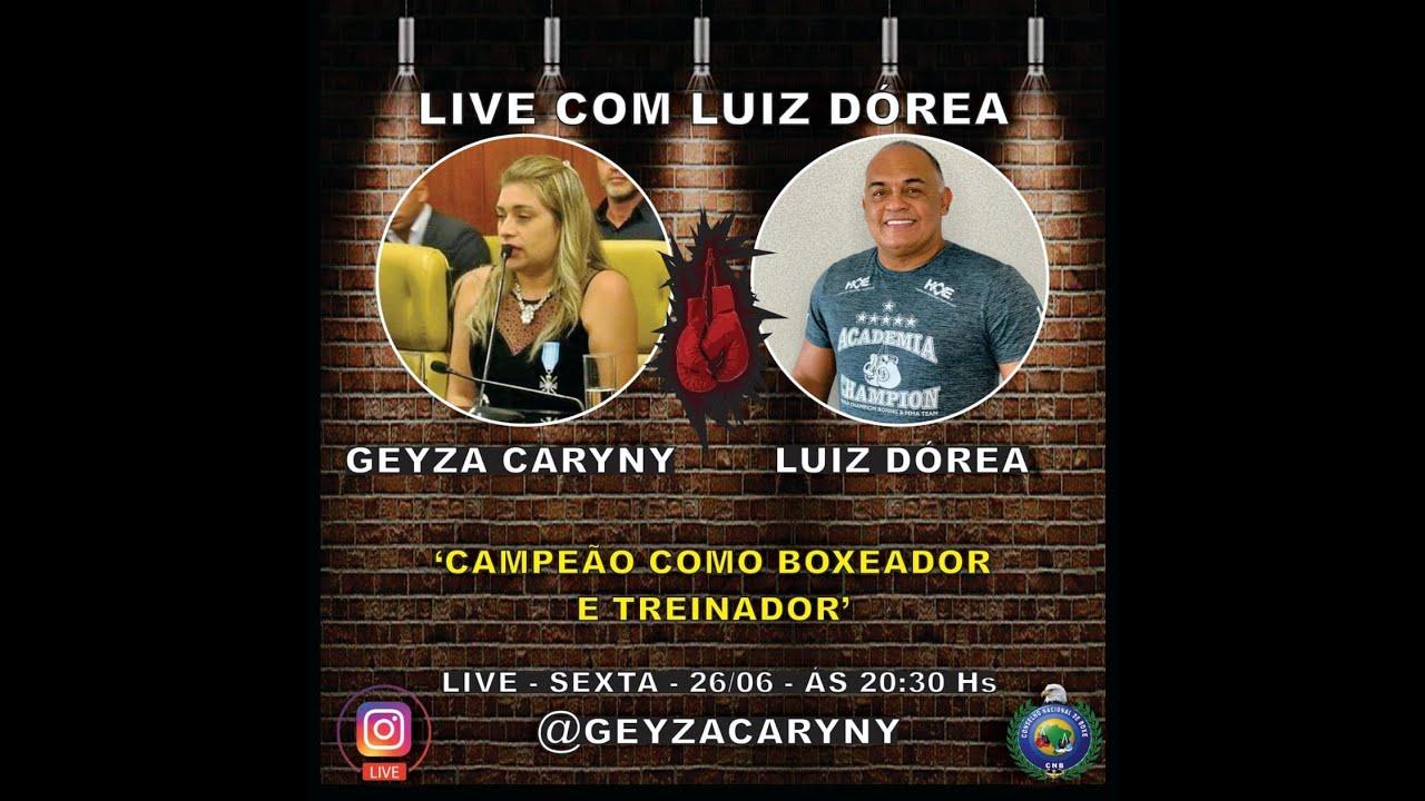 Live: Geyza Caryny e Luiz Dórea