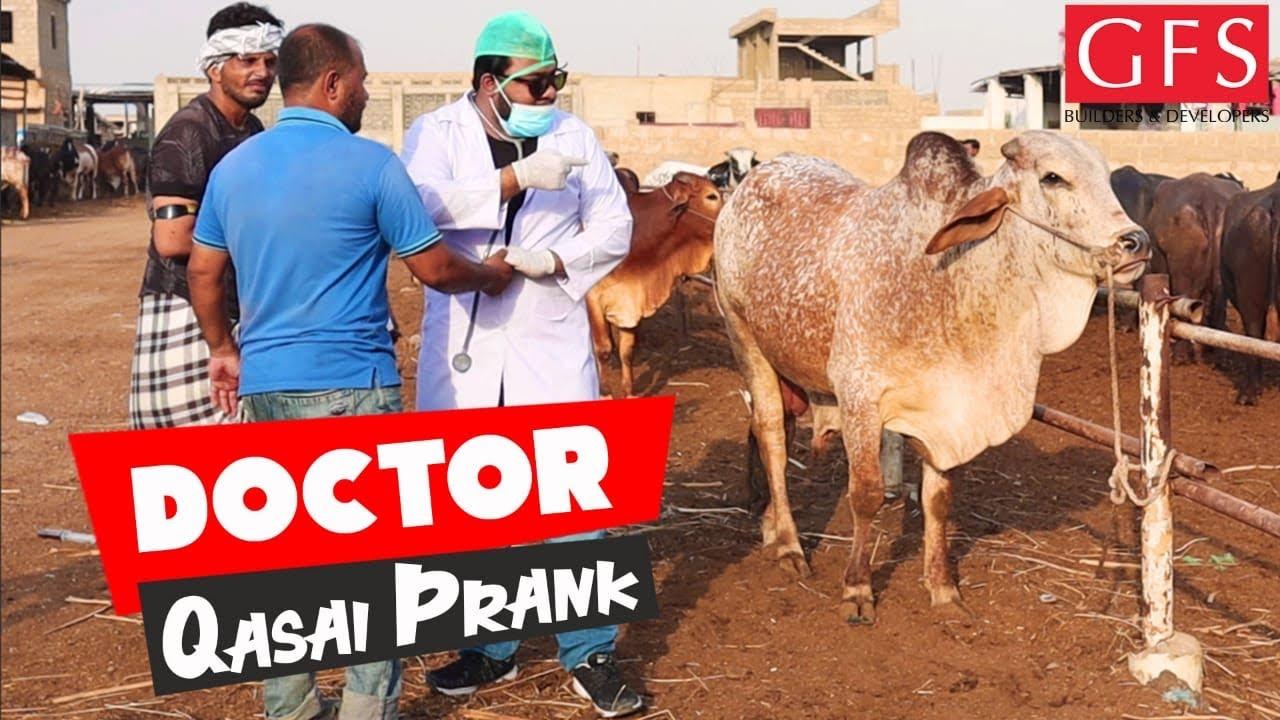 | DOCTOR QASAI PRANK | By Nadir Ali & Team in | P 4 Pakao | 2020