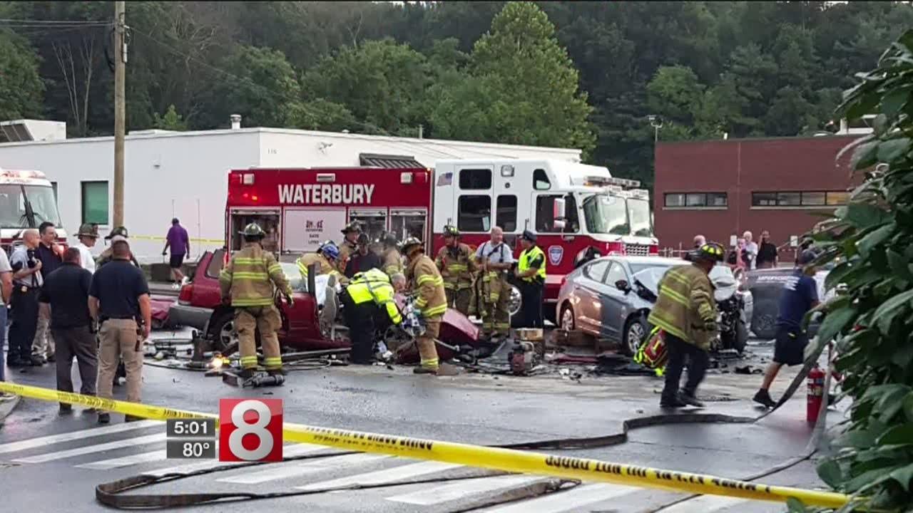 Police identify the 2 killed in Waterbury head-on crash