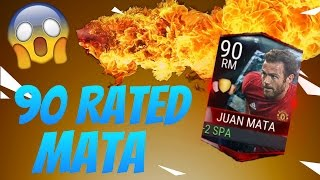 90 RATED MATA!! - FIFA MOBILE - GAMEPLAY - HE'S UNSTOPPABLE!