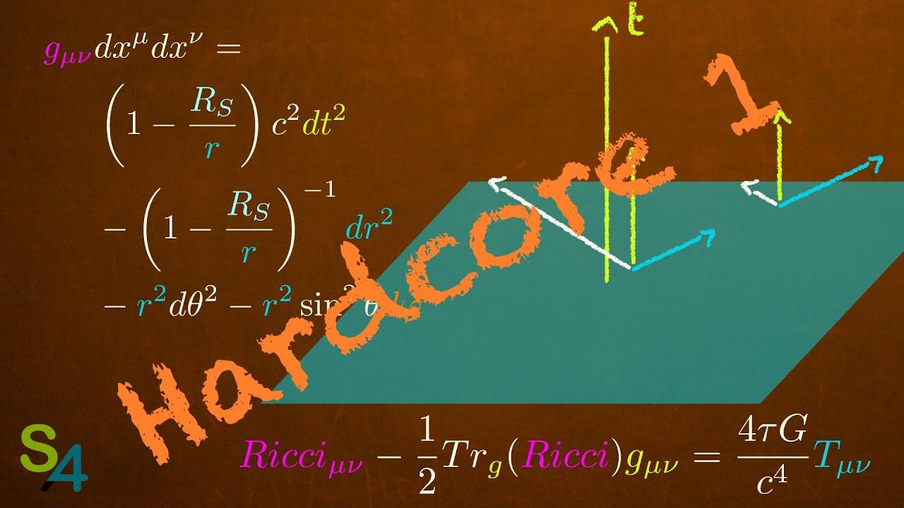 Les tenseurs de la relativité générale | Hardcore 1
