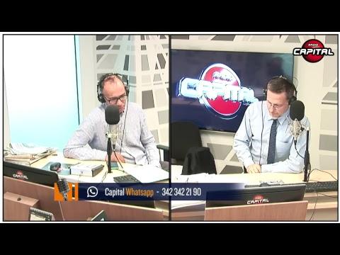 Massimo Giannini in diretta su Radio Capital con Emma Bonino, Roberto D'Agostino, Sergio Castellitto
