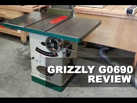 The Grizzly G0690 Table Saw | Cabinet Saw Review 2017 - YouTube