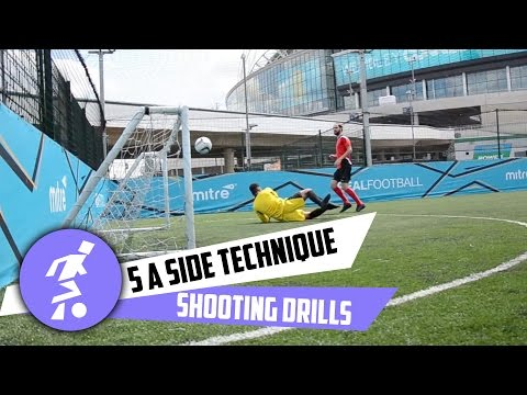 5 a side shooting techniques