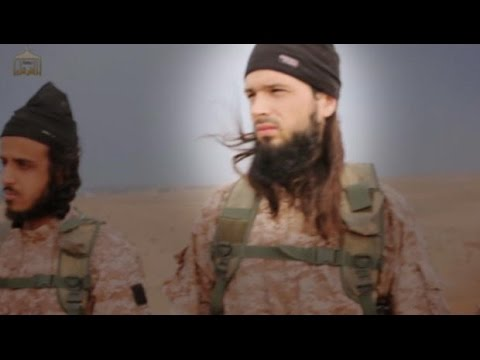 Faces of ISIS militants revealed in beheading video