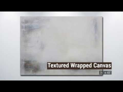 DRIFTED Abstract Modern ART Painting - Textured Large Living Room Bedroom Wall Hanging