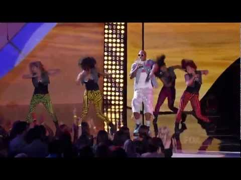 Flo Rida - Whistle live & Wild Ones live at Teen Choice Awards 2012 HD ft SIA - Best Performance 3D