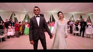 Wedding Mauritius l Akash & Vanessa l Badri Ki Dulhania