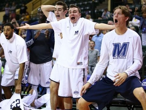 MONMOUTH's over-the-top bench celebrations are the MOST FUN thing about college basketball!
