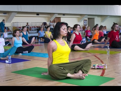International Yoga Day 2016 - Chisinau, Moldova