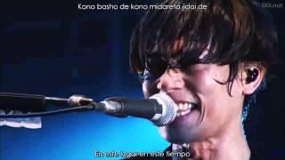 Starrrrrrr - [Alexandros] LIVE sub español Lyrics [Alexandros] Este...