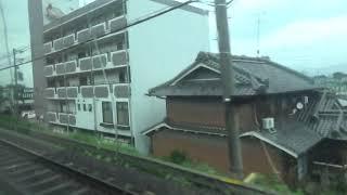 近鉄12200系 モ12254 京橿特急橿原神宮前⇒京都間の車窓