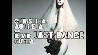 David Guetta Christina Aguilera - Last Dance Instrumental