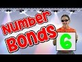 I Know My Number Bonds 6 | Number Bonds to 6 | Addition Song for Kids | Jack Hartmann