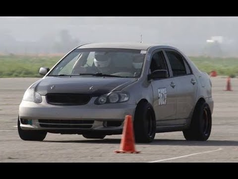 Supercharged & Gutted 2003 Toyota Corolla Track Toy - One Take