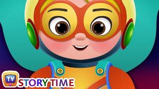 Cussly's SuperHero Costume - ChuChuTV Good Habits Moral Stories for Kids