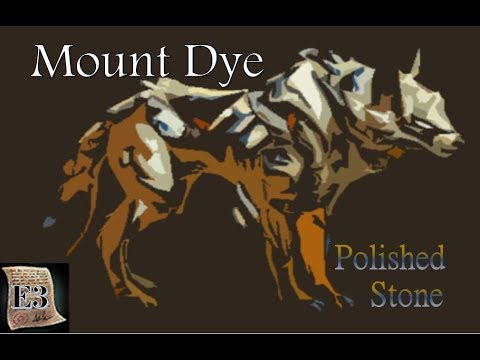Mount Dye 101 - Jackal - Polished Stone