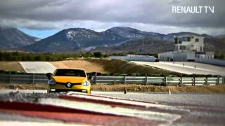 New Clio R.S. 200 EDC test drive by Renault