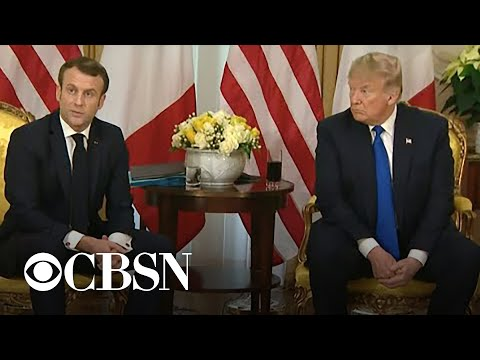 Macron declines to back down over NATO comments
