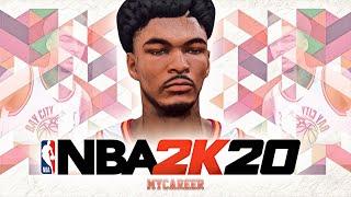 NBA 2K20 MyCareer #1 - NASTY INJURY! DEMIGOD Shooting Guard With NO BADGES! Best SG Build 2K20!