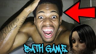 DO NOT PLAY THE CREEPY BATH GAME AT 3AM!!!!! *THIS IS WHY* ALMOST DROWNED
