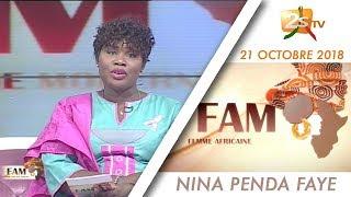 FEMME AFRICAINE MODERNE DU 21 OCTOBRE 2018 AVEC NINA PENDA FAYE