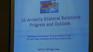 USA – Armenia Bilateral Relations  Progress and Outlook