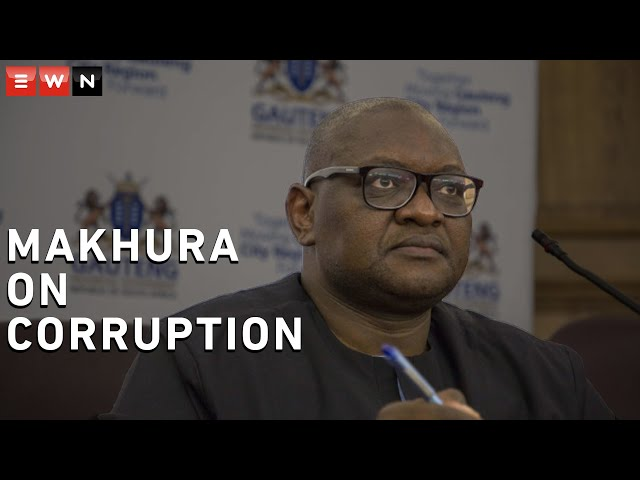 Makhura: The fight against corruption is not easy, we will never surrender - Eyewitness News