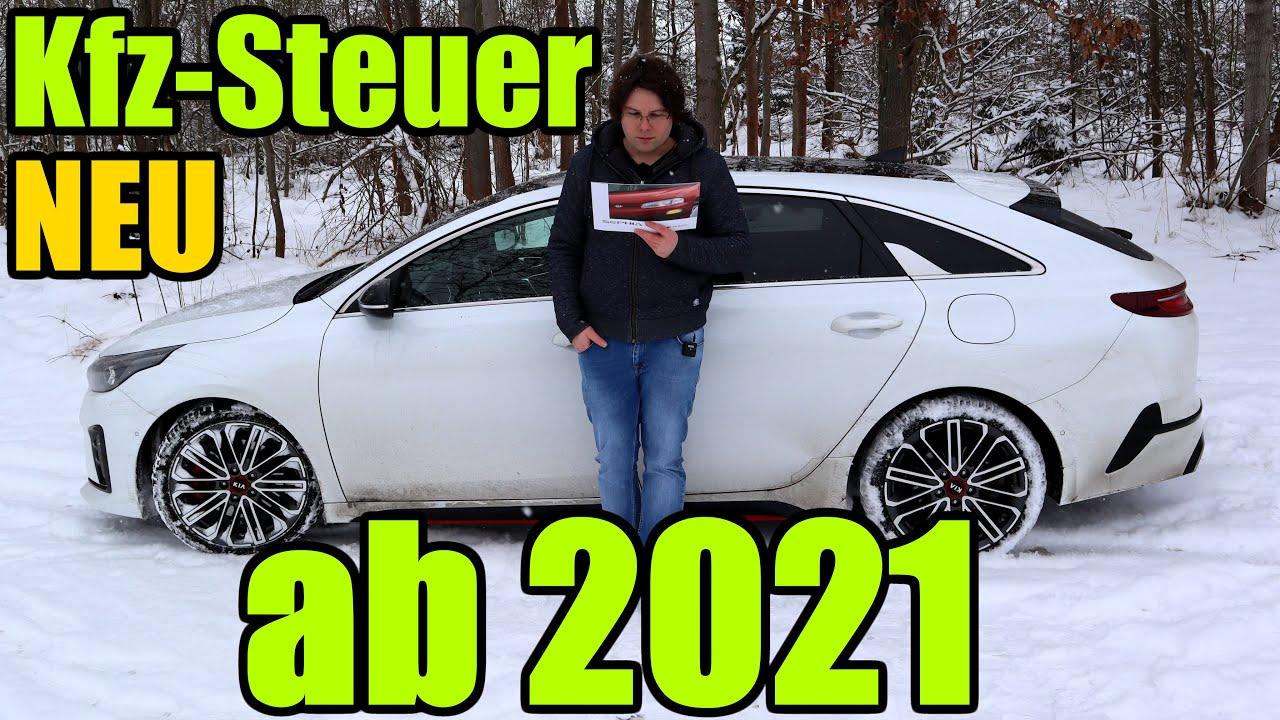 Neue Kfz - Steuer ab 2021 - alt vs. neu Berechnung ...