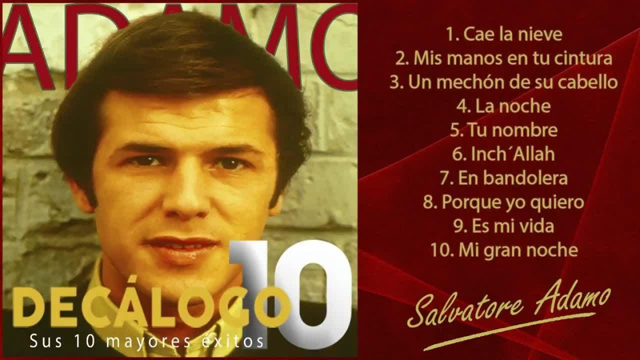 """Download Adamo - Sus 10 mayores éxitos (Colección """"Decálogo"""")"""