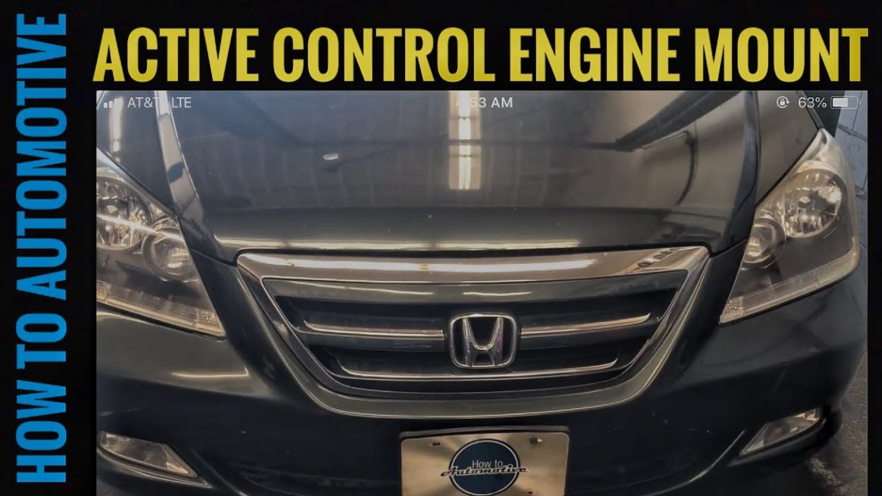 How to Replace the Front Active Control Engine Mount on a ...