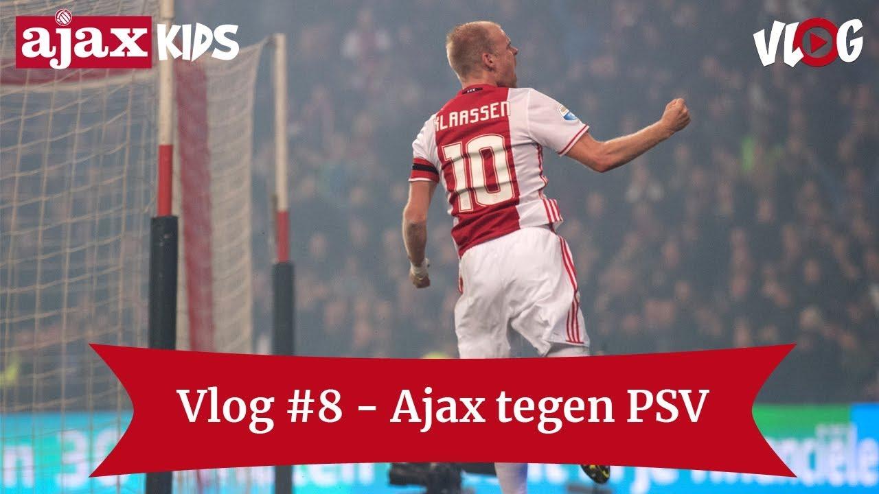 Kersttrui Ajax.Ajax Kids Club Vlog 8 Thuis Tegen Psv Win Een Ajaxkersttrui