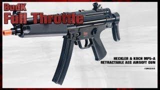 Heckler & Koch MP5 A Retractable AEG Airsoft Gun - $119.99