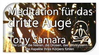 DEUTSCH - Meditation für das dritte Auge von Tony Samara - TonySamara.com - DE