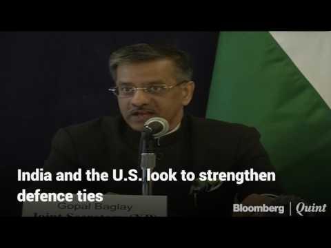 India And U.S. Talk Terrorism And Strategic Partnership