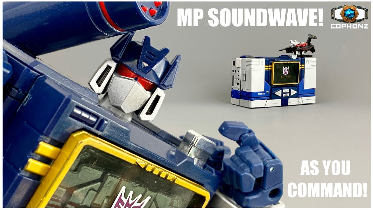 No words review of Masterpiece MP-13 Soundwave