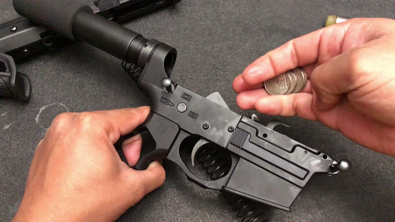Spikes Tactical 9mm Glock Ar9 Pistol Build Youtube