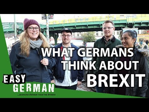 What Germans think about Brexit   Easy German 223