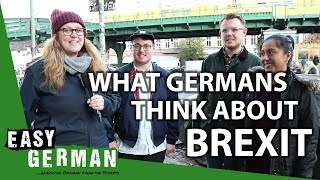 What Germans think about Brexit | Easy German 223