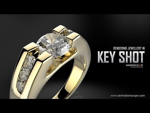 Rendering Jewellery in 3DS Max and Keyshot - Tutorial