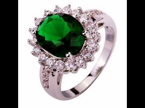Buy Emerald Engagement Rings