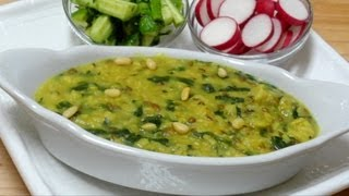 Oats Khichdi Recipe Video - Oats, Lentil and Spinach Stew