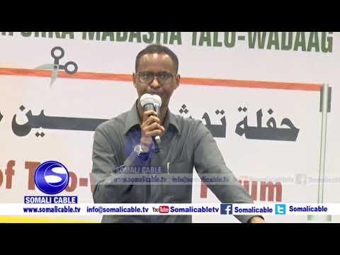 """Xildh C/shakuur Cali Mire """"mucaaradnimada Somalia ka jirta 8-siyaasi oo isku beel ka soo jeeda"""